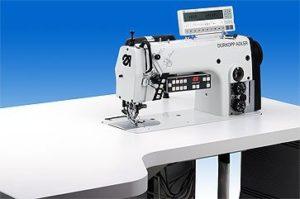 275-742642 Maszyna do szycia – Odkrawacz z transportem różnicowym i programatorem zamarszczania